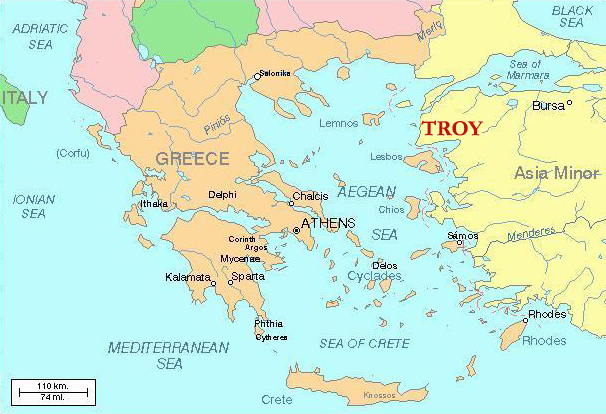 Fall Of Troy The Legend And The Facts